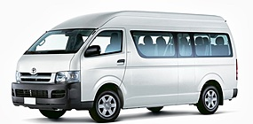 CBC Toyota Commuter* - 13 seats + Driver